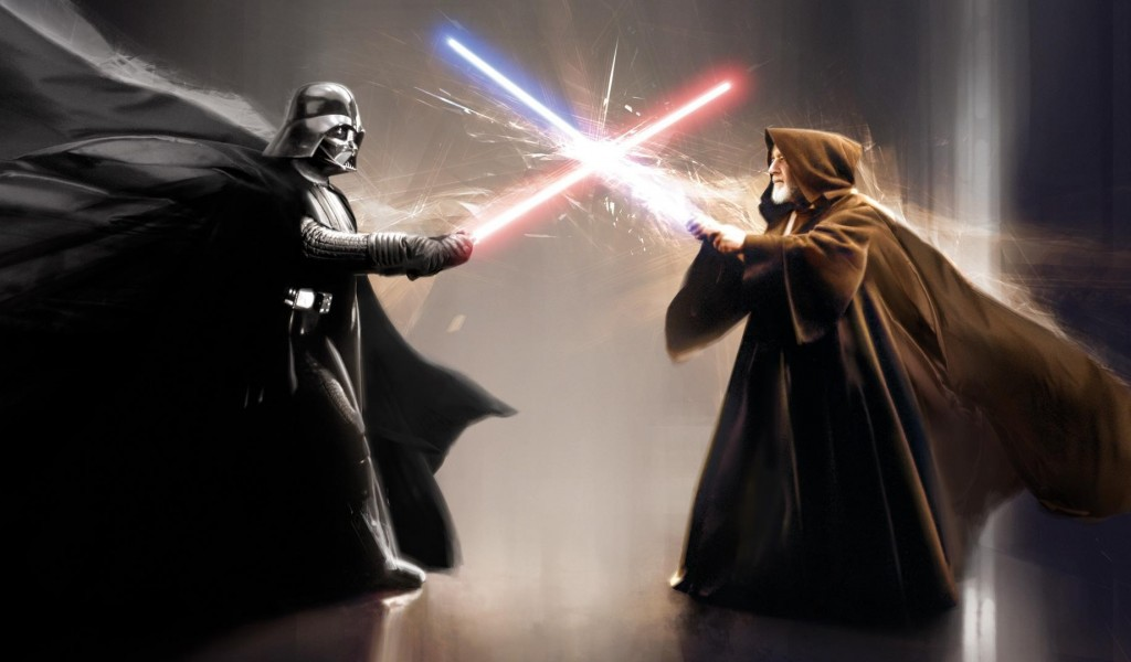 HD wallpaper Darth Vader Jedi 1024x600 - Wallpaper