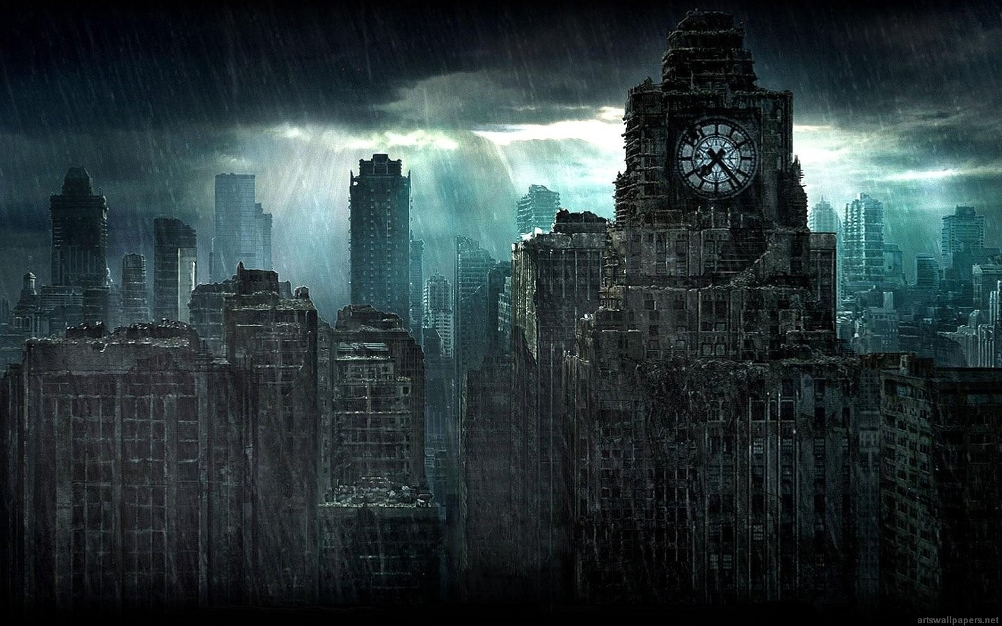 HD Wallpapers 1080p Widescreen Dark City | City Pictures