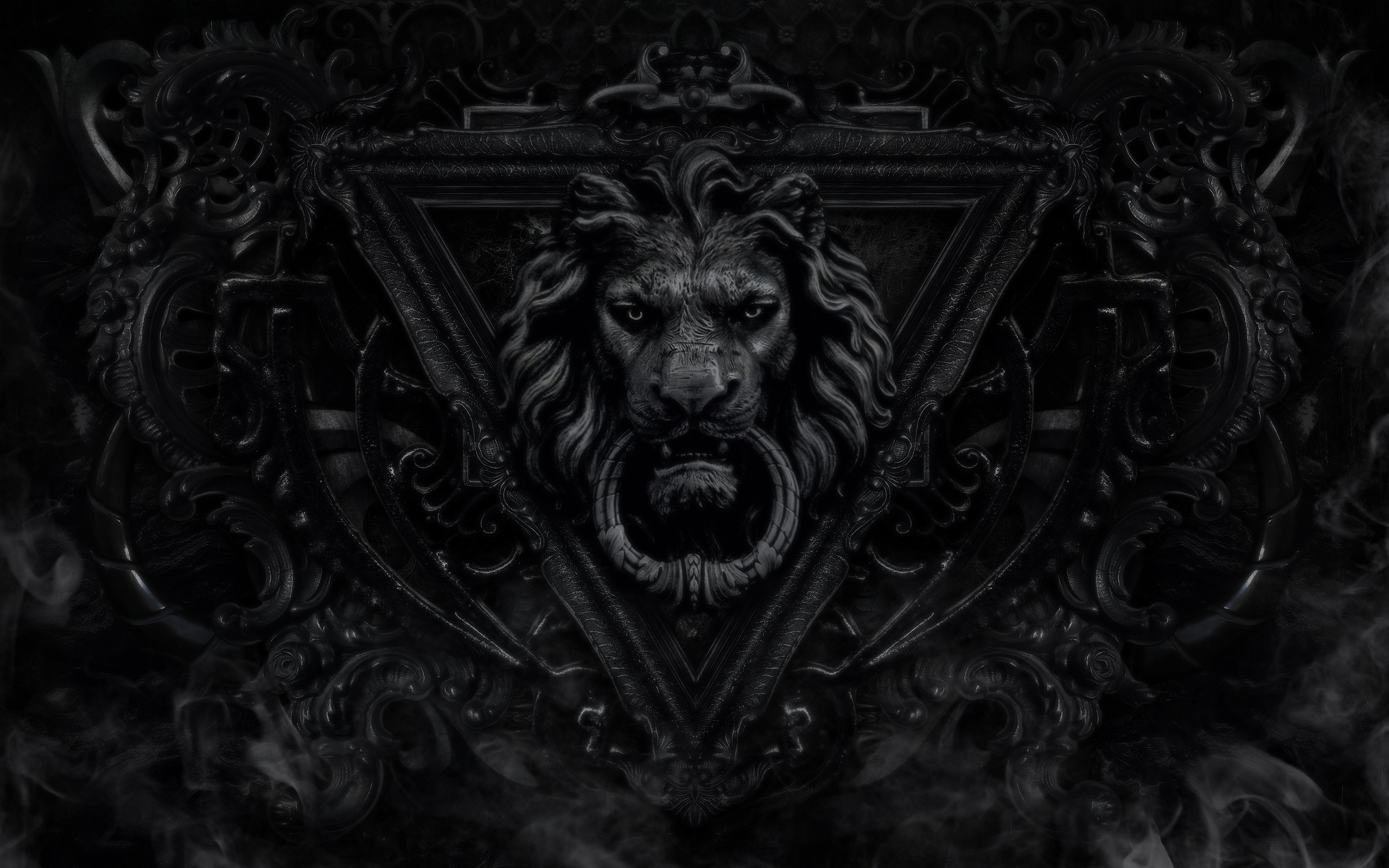 Lion Wallpaper Black And White Wallpaper HD Black And White Iphone