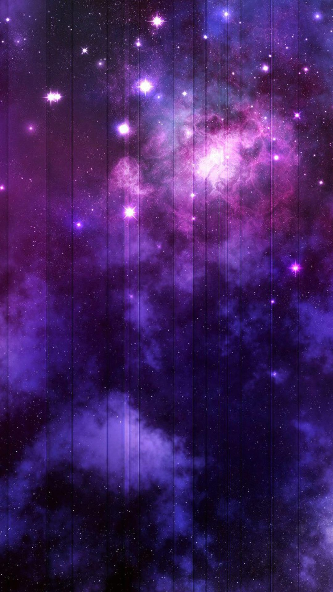 Wallpaper Full Hd 1080 X 1920 Smartphone Vertical Stiped Nebula