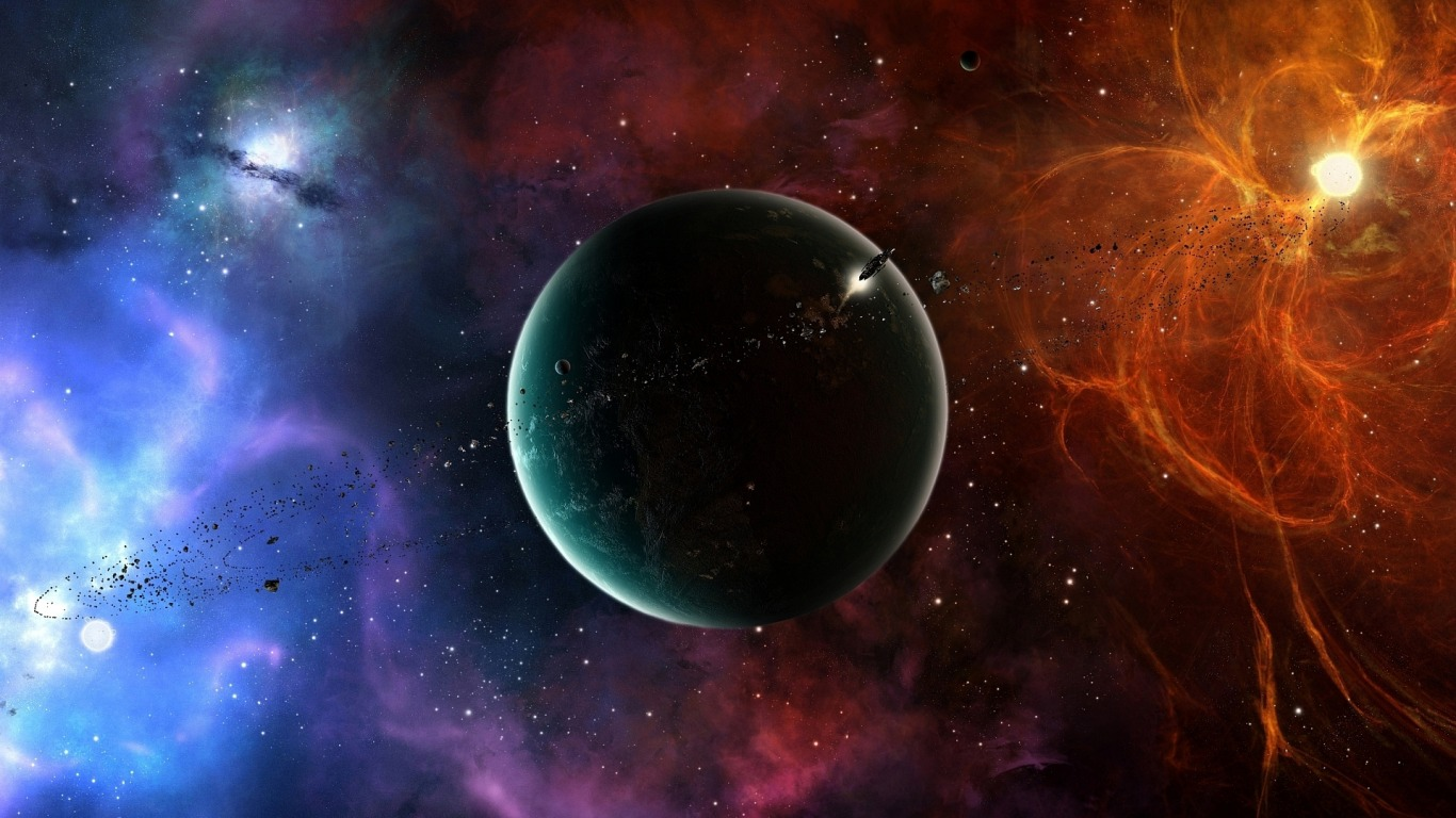 Space Wallpaper 1366x768 - WallpaperSafari