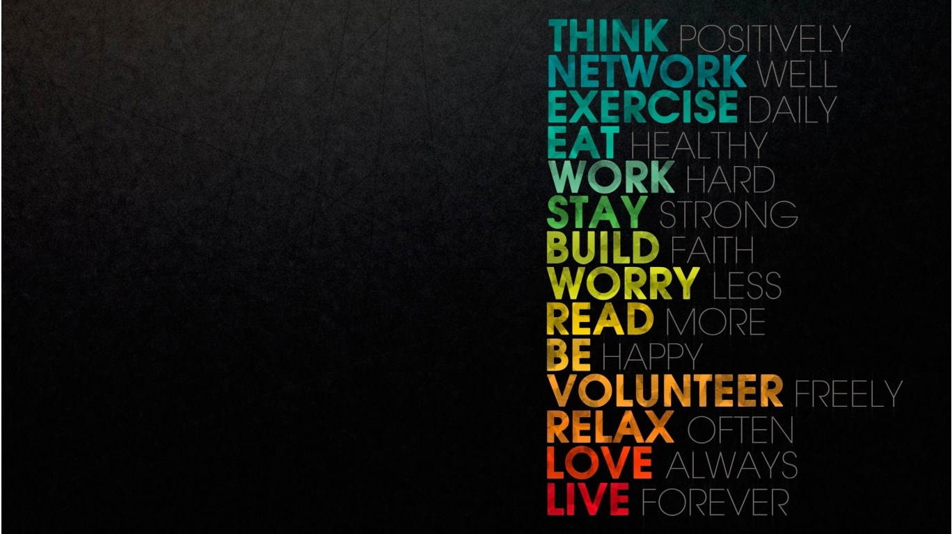 Think Positively - 1368x768 - 296618
