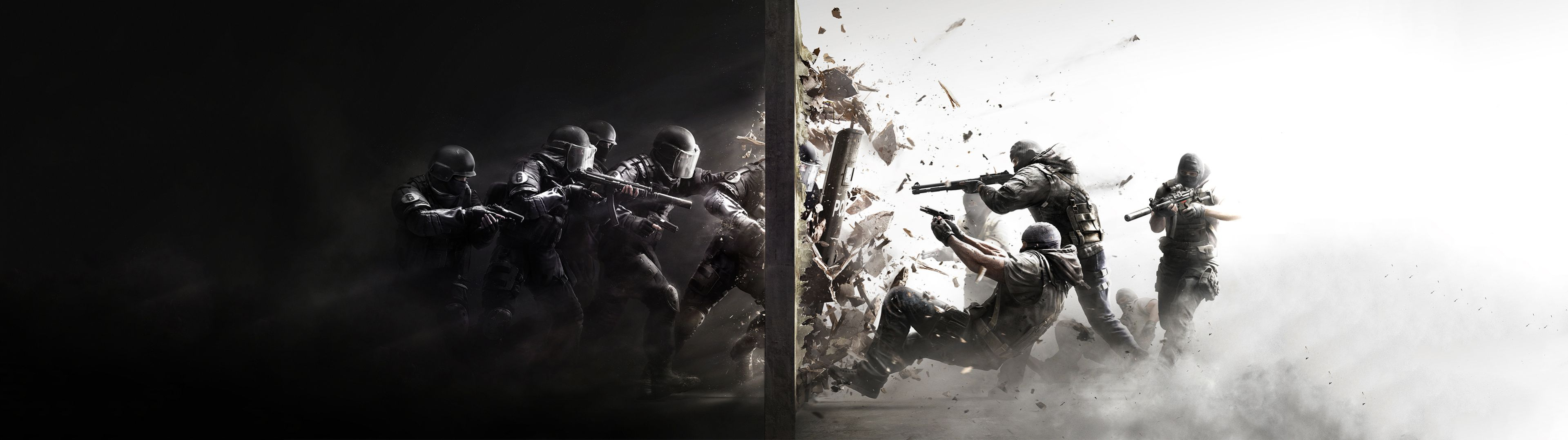 Counter Strike Dual Screen Wallpaper | 3839x1079 | ID:43751