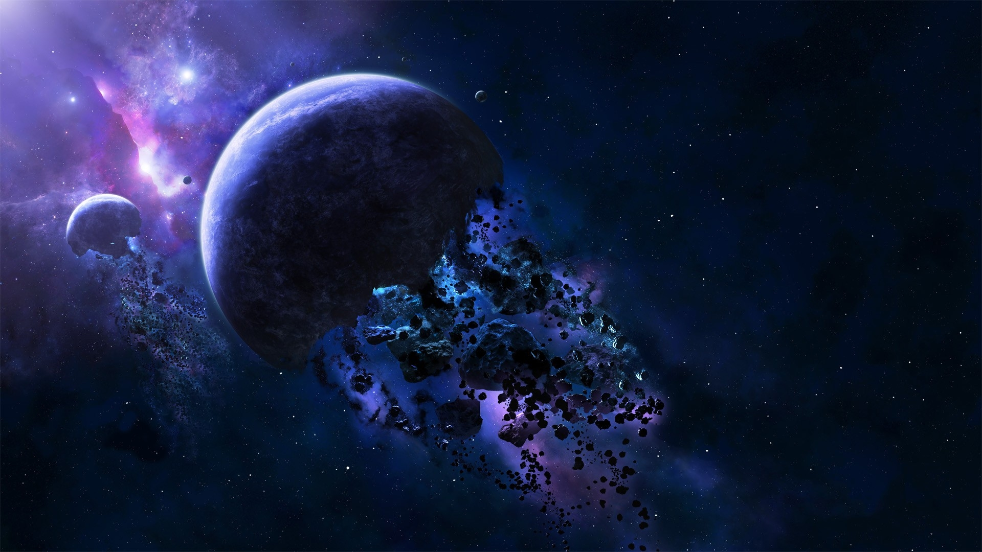 HD Space Wallpaper 1920x1080 - WallpaperSafari