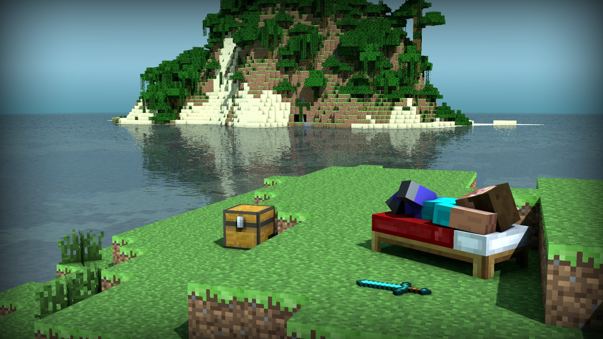 Minecraft wallpaper | 1920x1080 | #42899