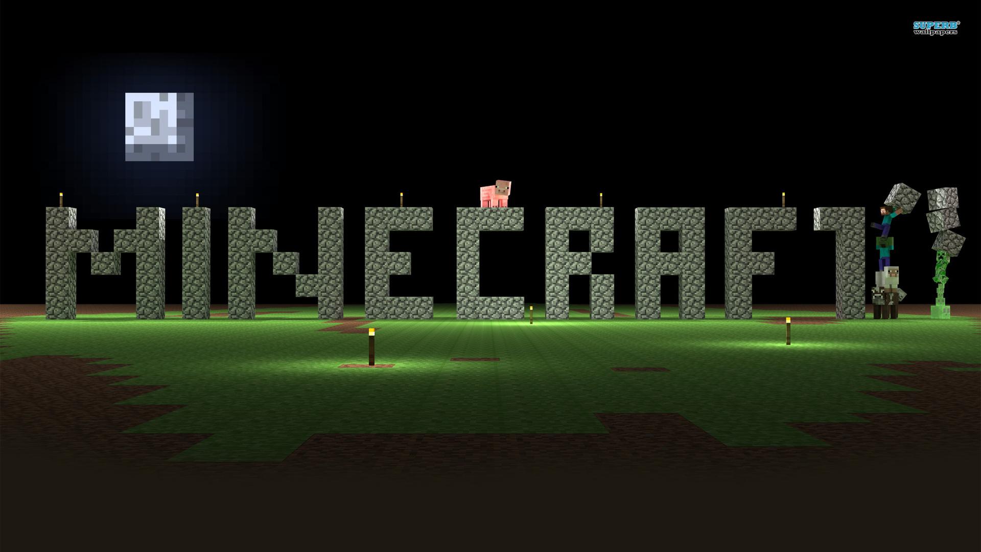 Download Minecraft Wallpaper 1920x1080 Gallery