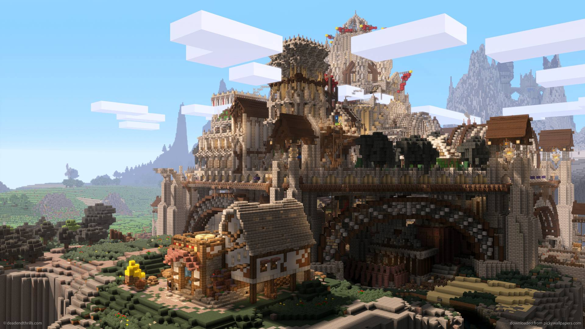 Minecraft Wallpapers 1920x1080 - Wallpaper Cave