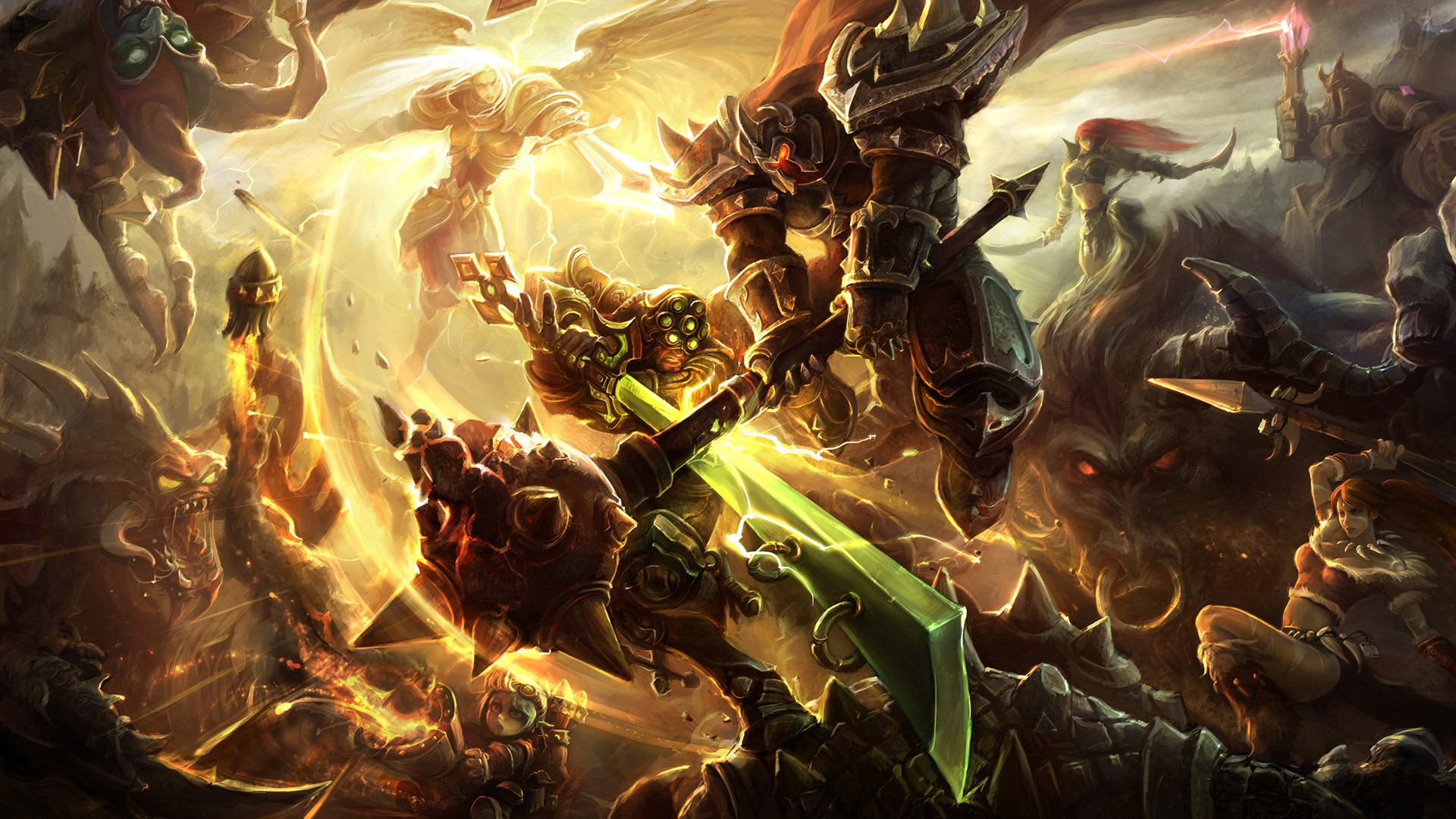 League of Legends game HD wallpapers #7 - 1920x1080 Wallpaper
