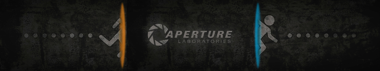 Portal 2 Dual Screen Wallpaper : gaming