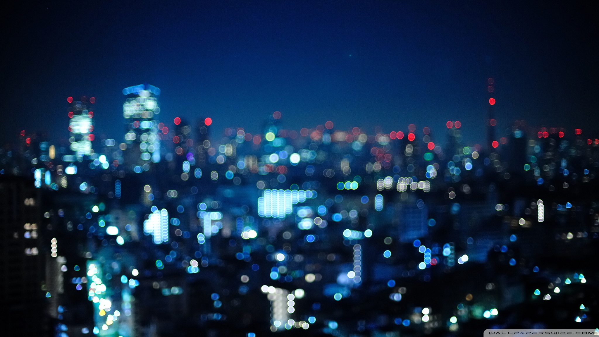 Tokyo, Japan - Bokeh City HD desktop wallpaper : High Definition