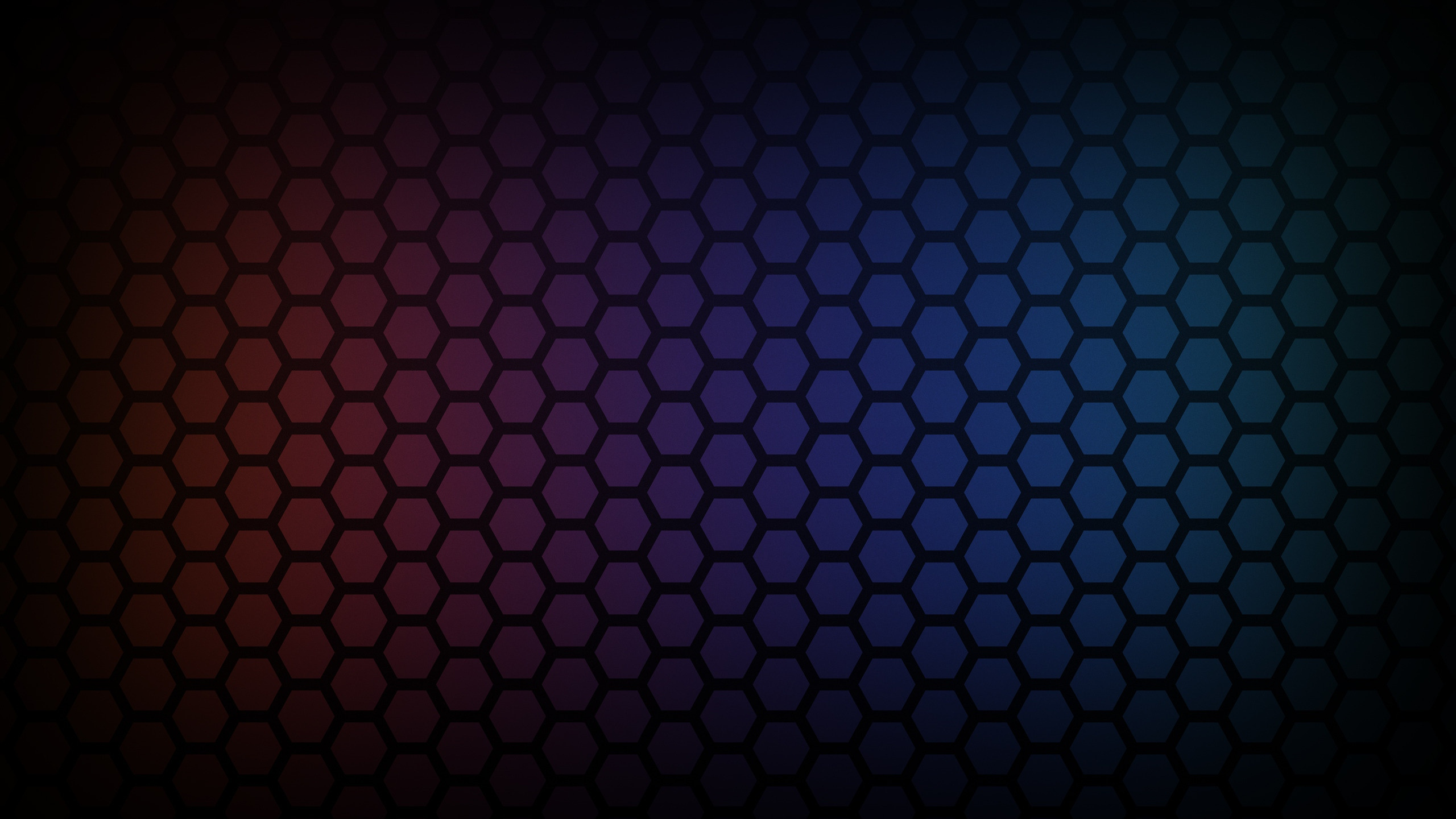 Hexagon Wallpaper Background 4925 2560x1440 - uMad com