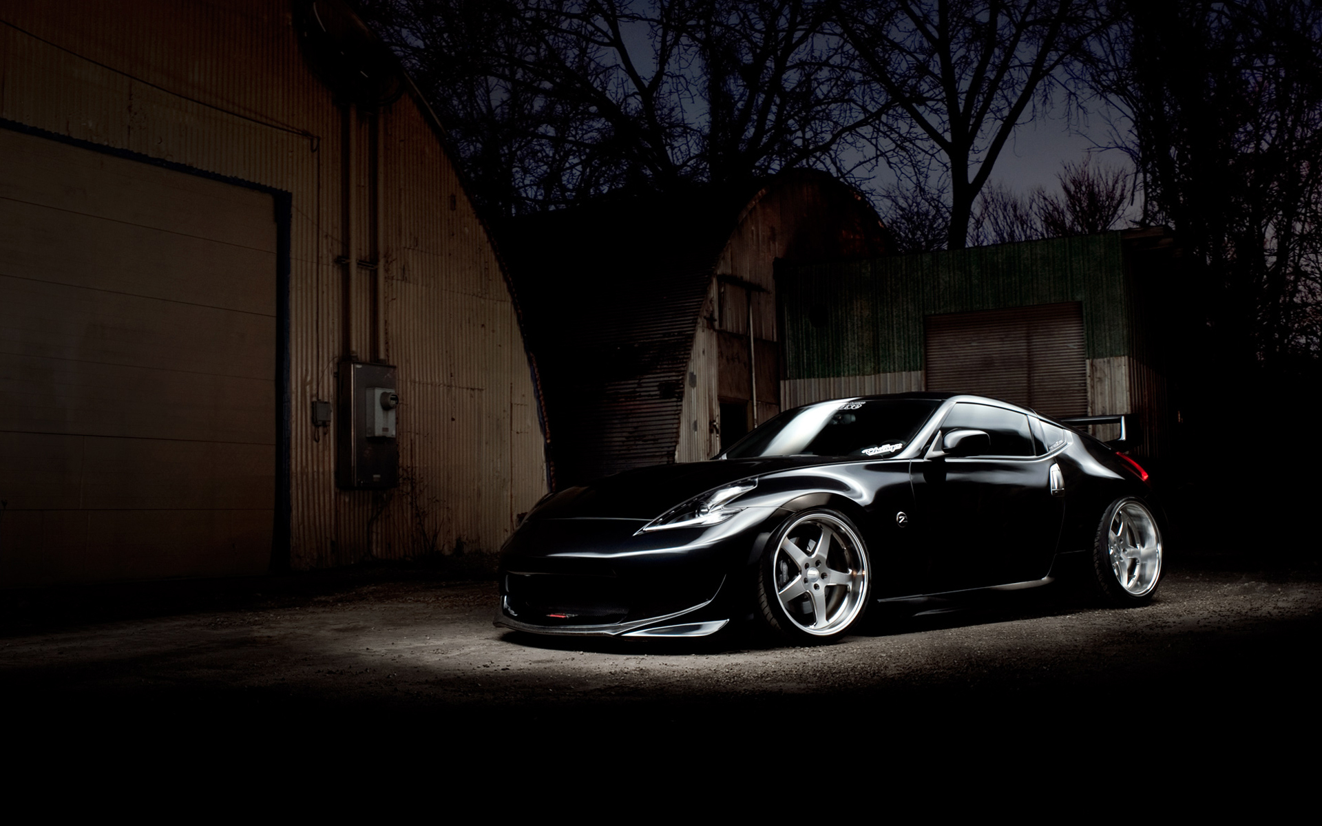 Nissan 370Z Black - wallpaper
