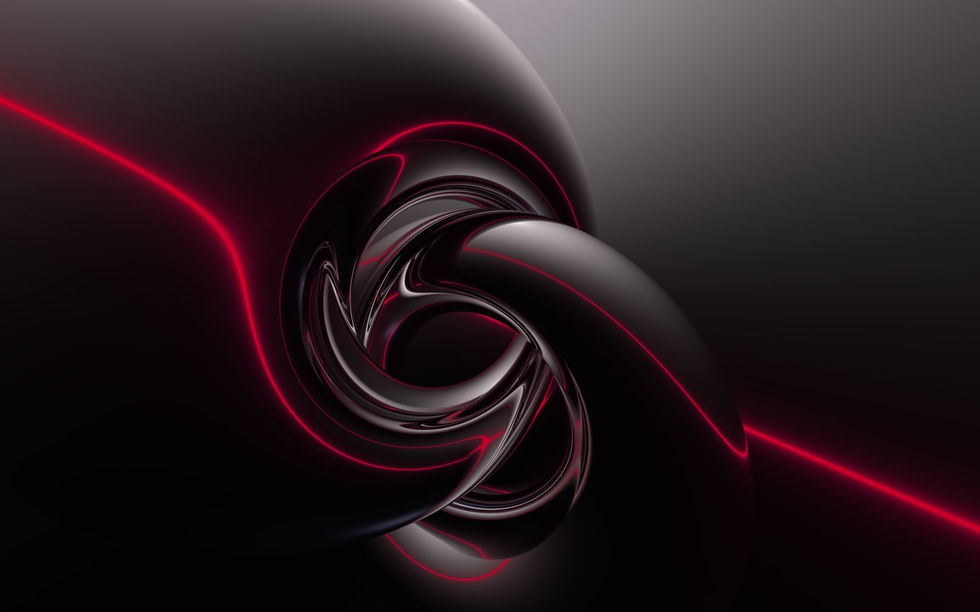 3D Black Abstract Wallpapers Group (76+)