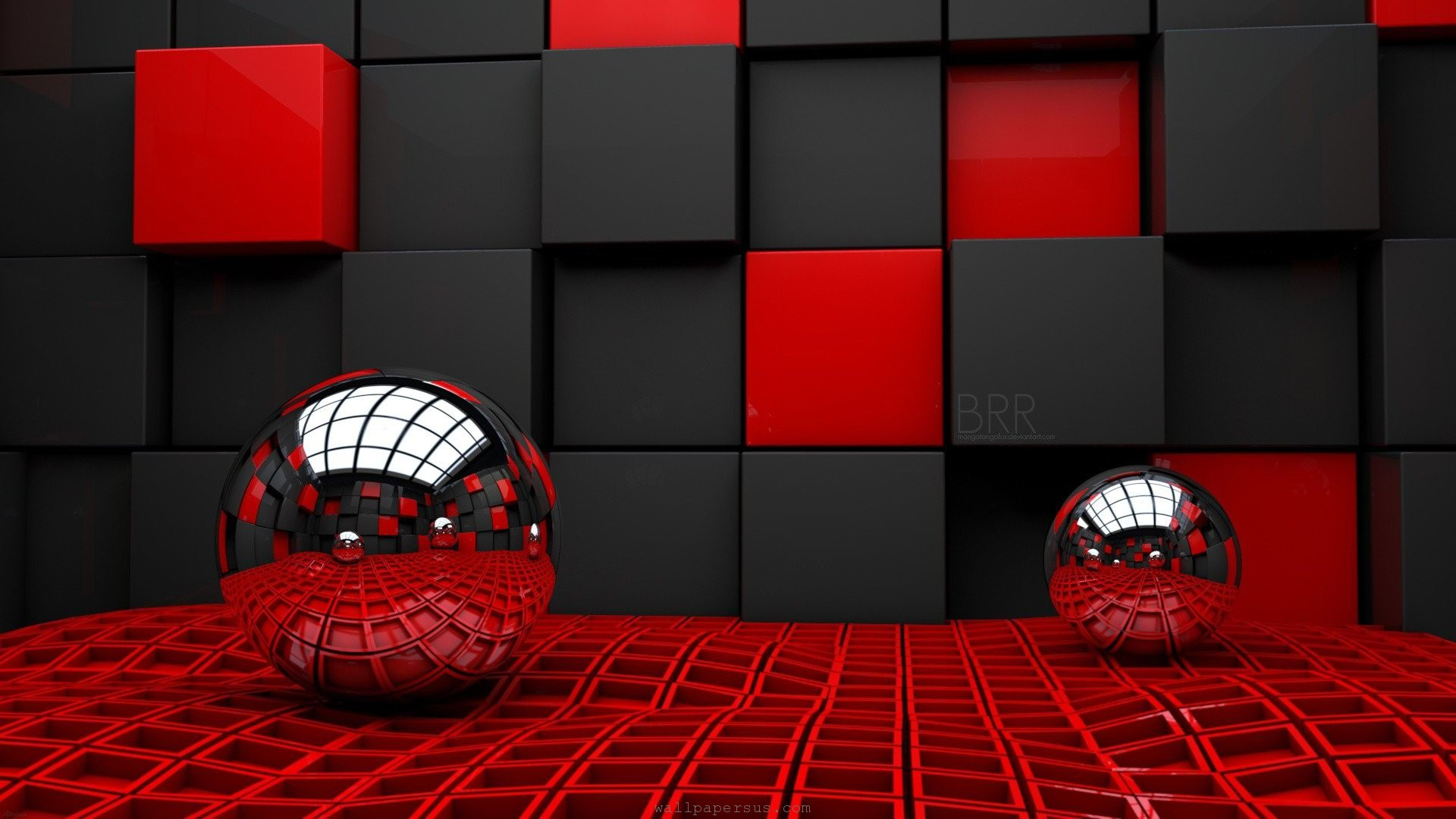 Red Black Wallpaper Wide Blue Black 3d Tumblr Abstract Black