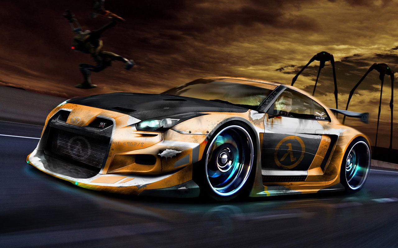 3d car wallpapers - sf wallpaper