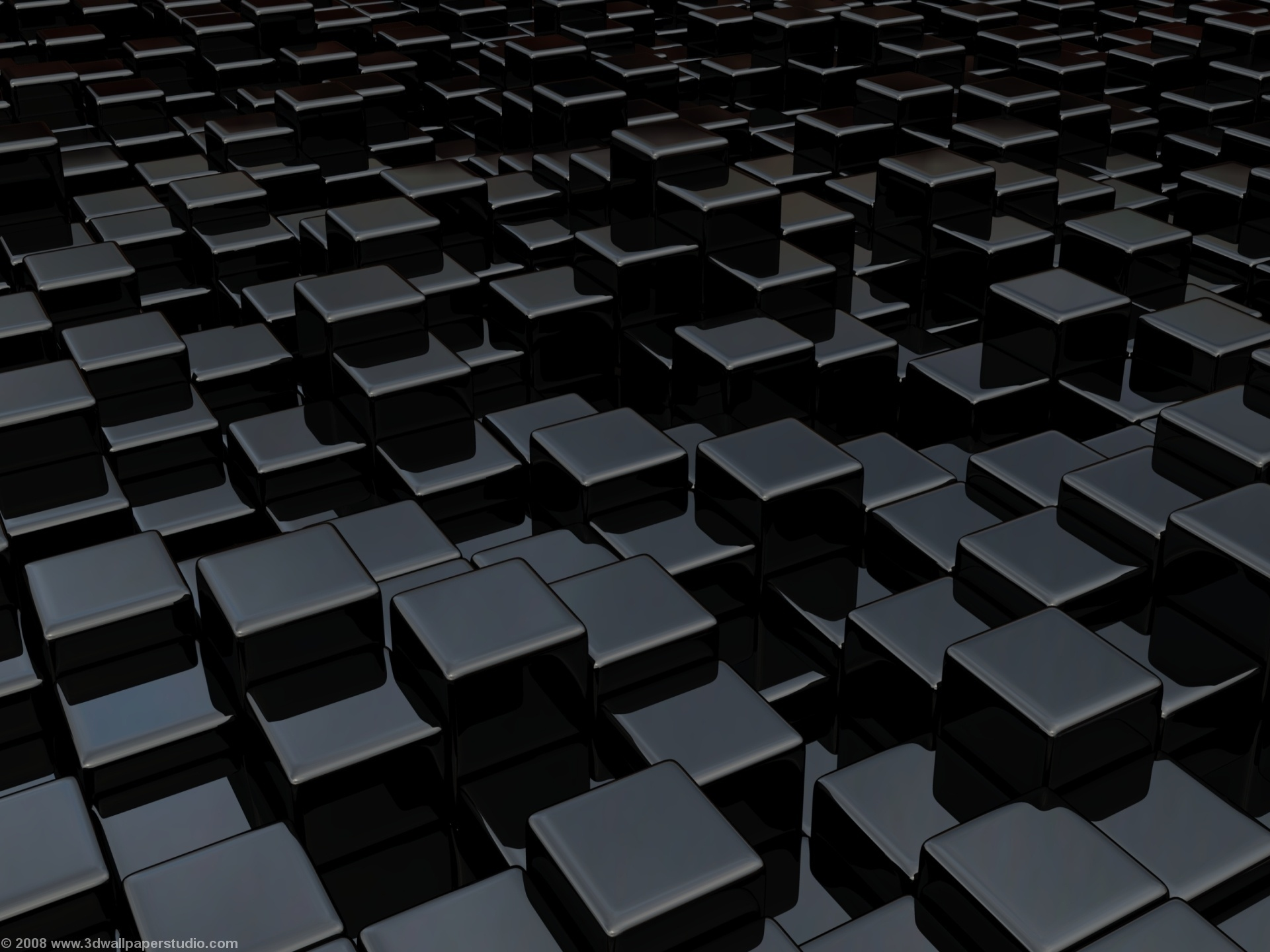 3d Black Wallpaper - WallpaperSafari