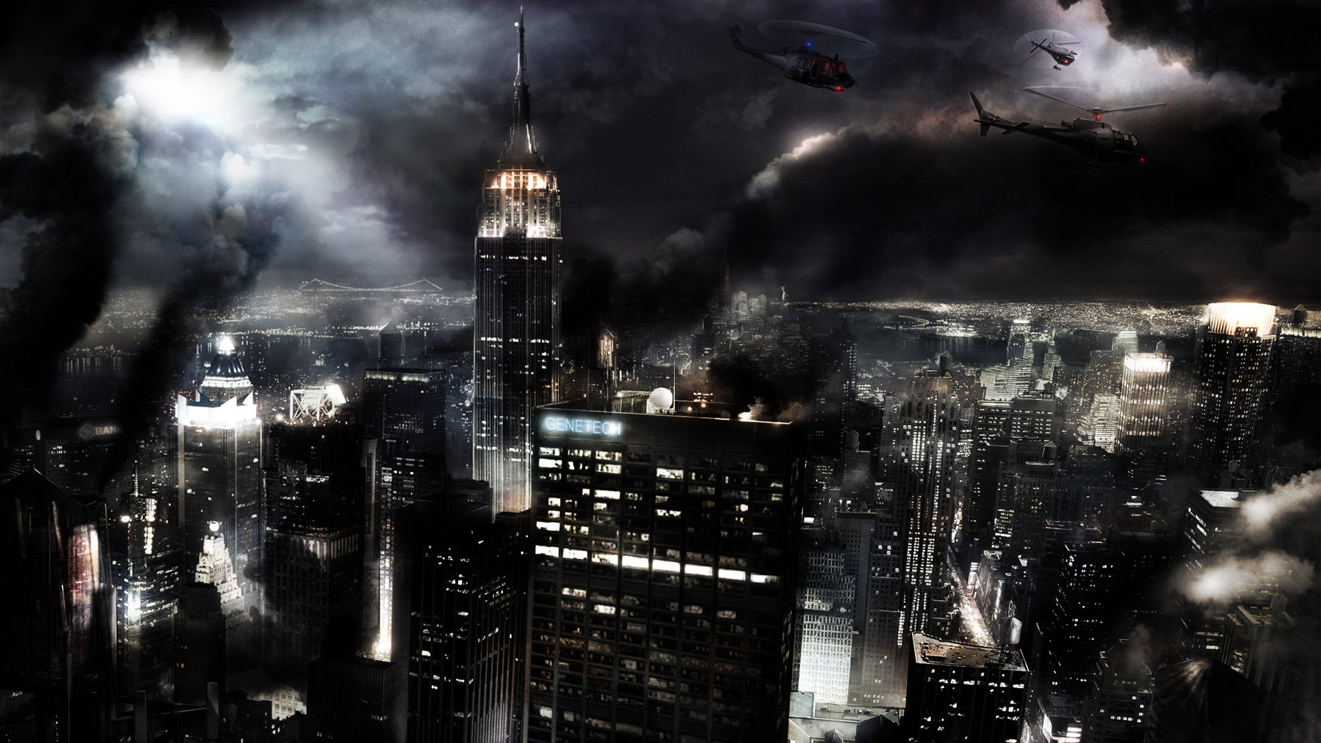 3d Dark City Wallpaper #14638 Wallpaper | High Resolution