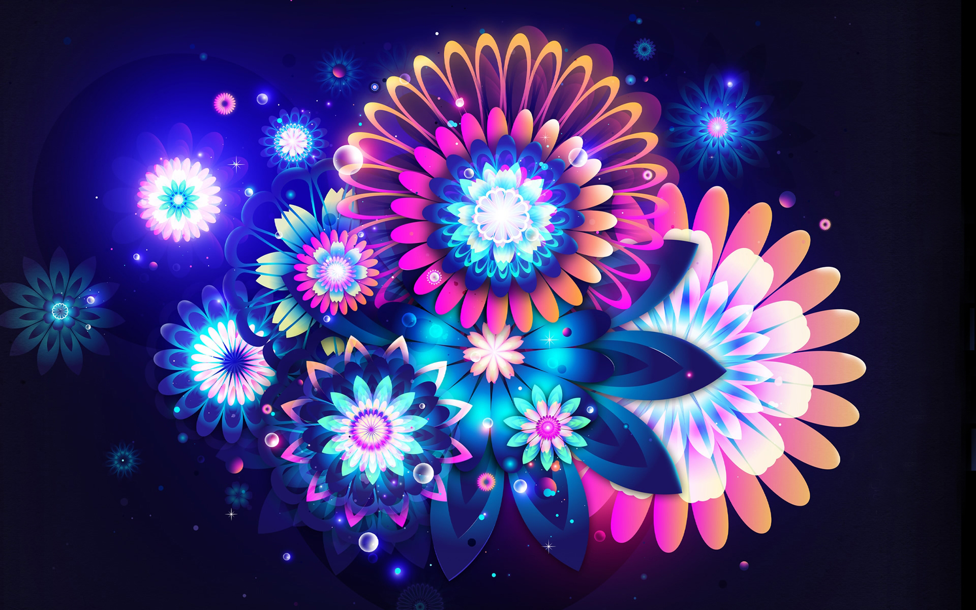 3D Flowers Wallpaper, 3D Flowers Wallpapers and Pictures