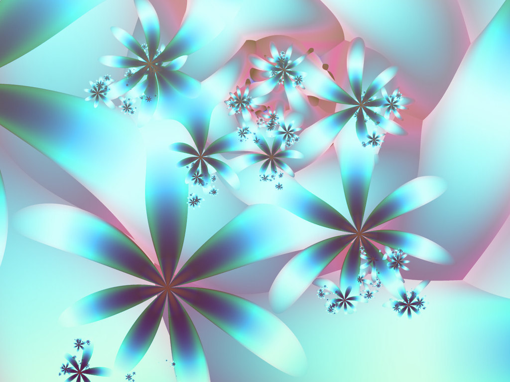 3D Flower Wallpaper - WallpaperSafari
