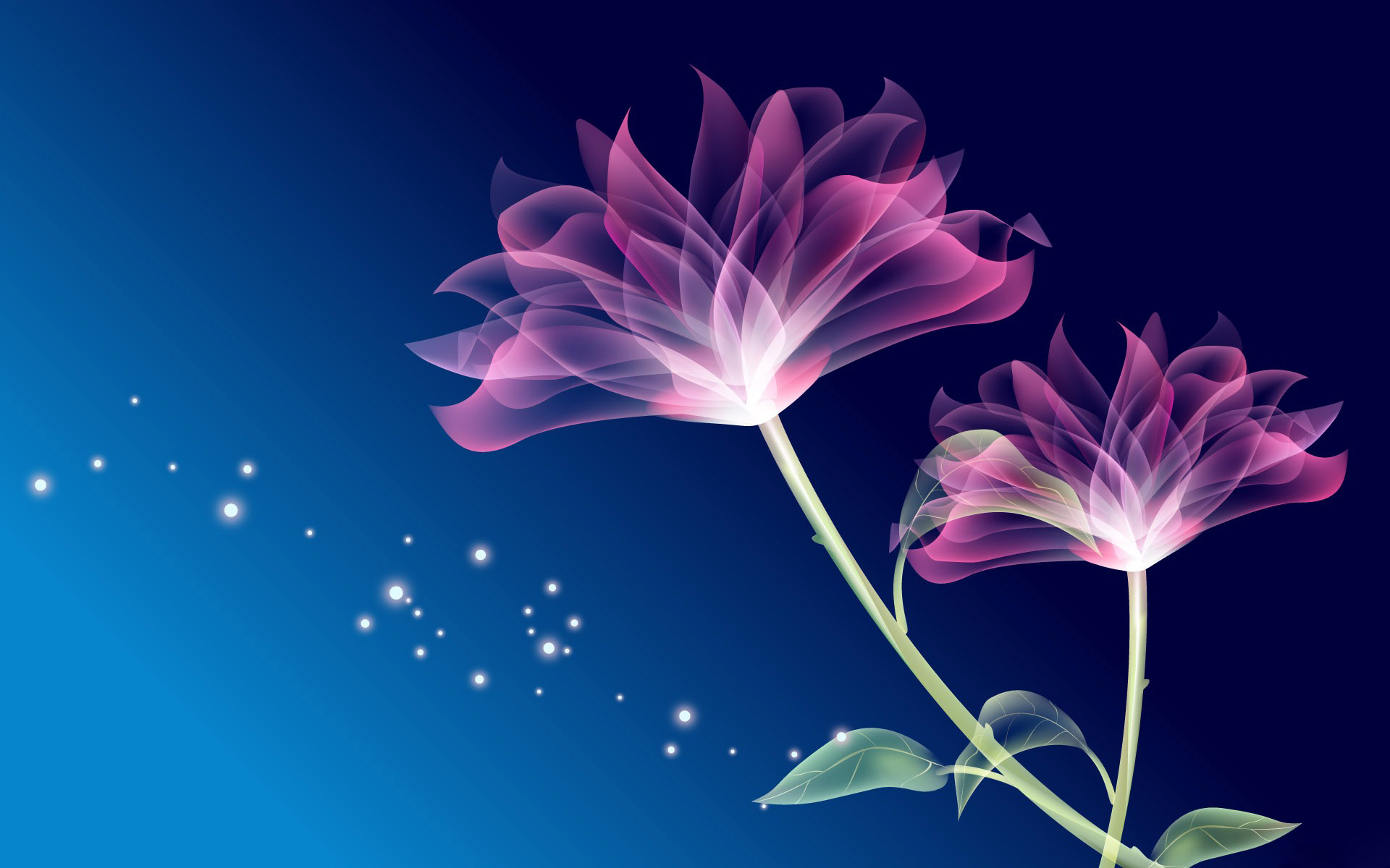 33 units of 3d Flower Wallpaper