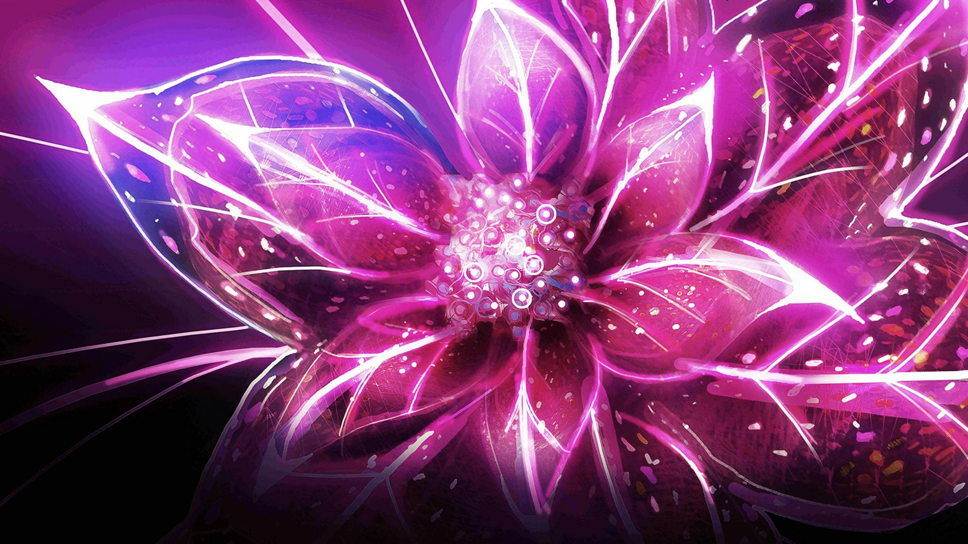 3D Flower Desktop Wallpaper - WallpaperSafari