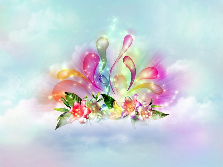 Collection of 3D Flower Wallpaper on HDWallpapers