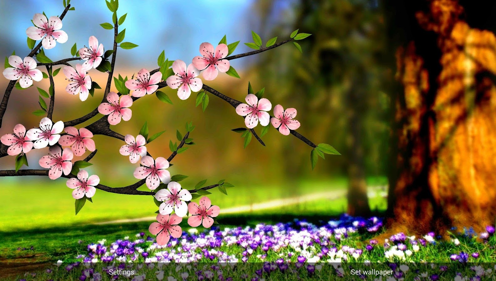 Spring Flowers 3D Parallax HD - Android Apps on Google Play