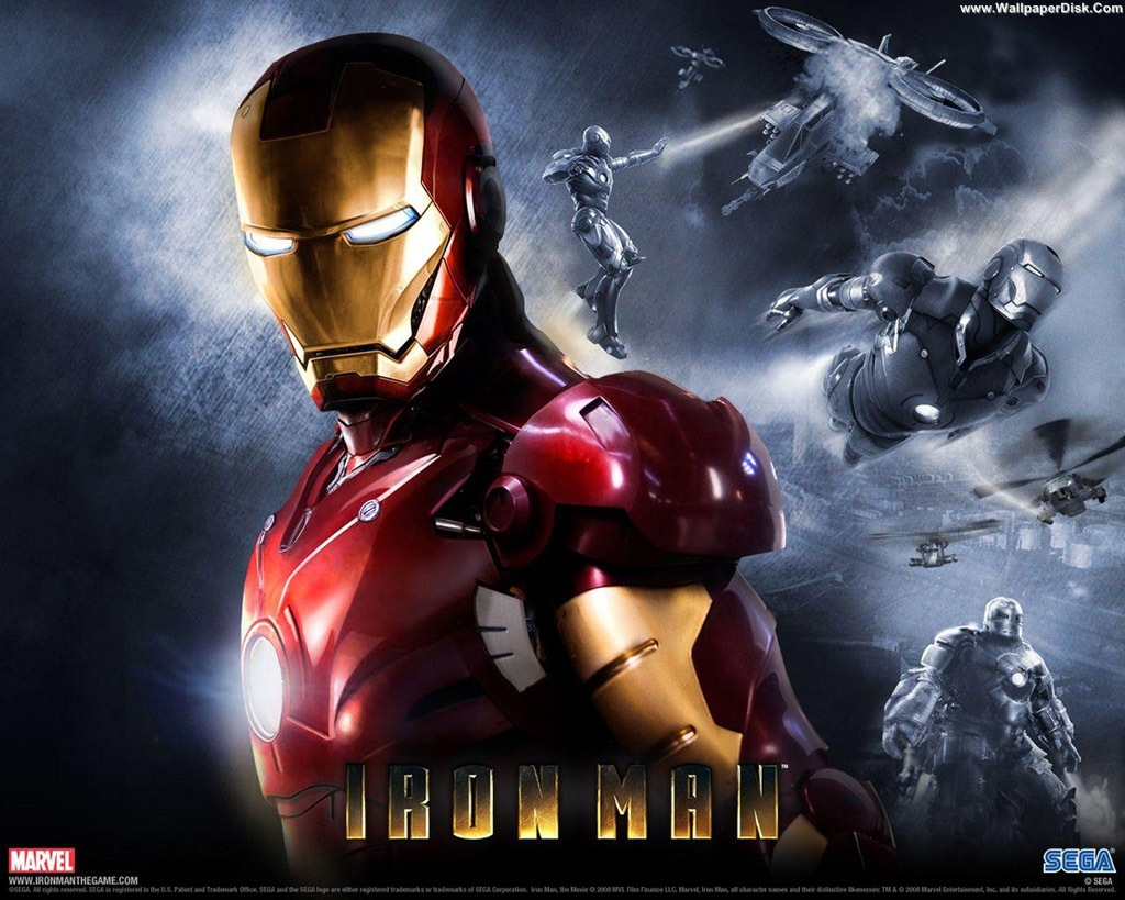 Iron Man 3D Wallpaper - WallpaperSafari
