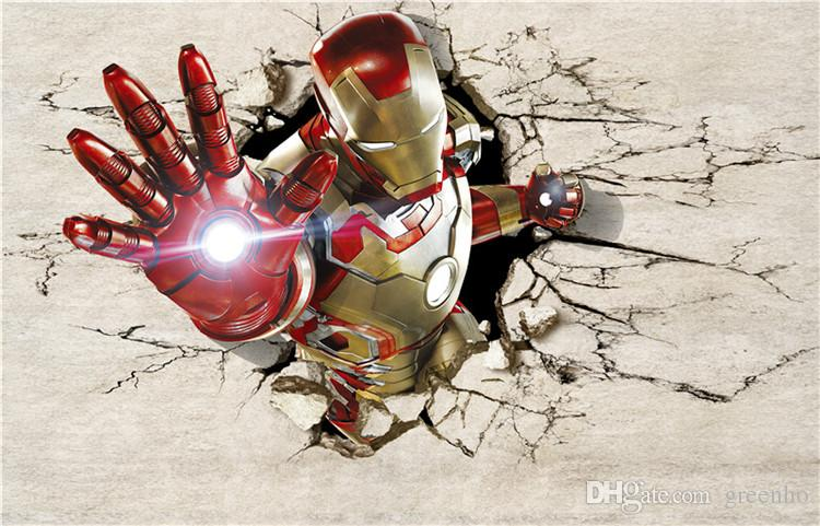 3d View Iron Man Wallpaper Giant Wall Murals Cool Photo Wallpaper