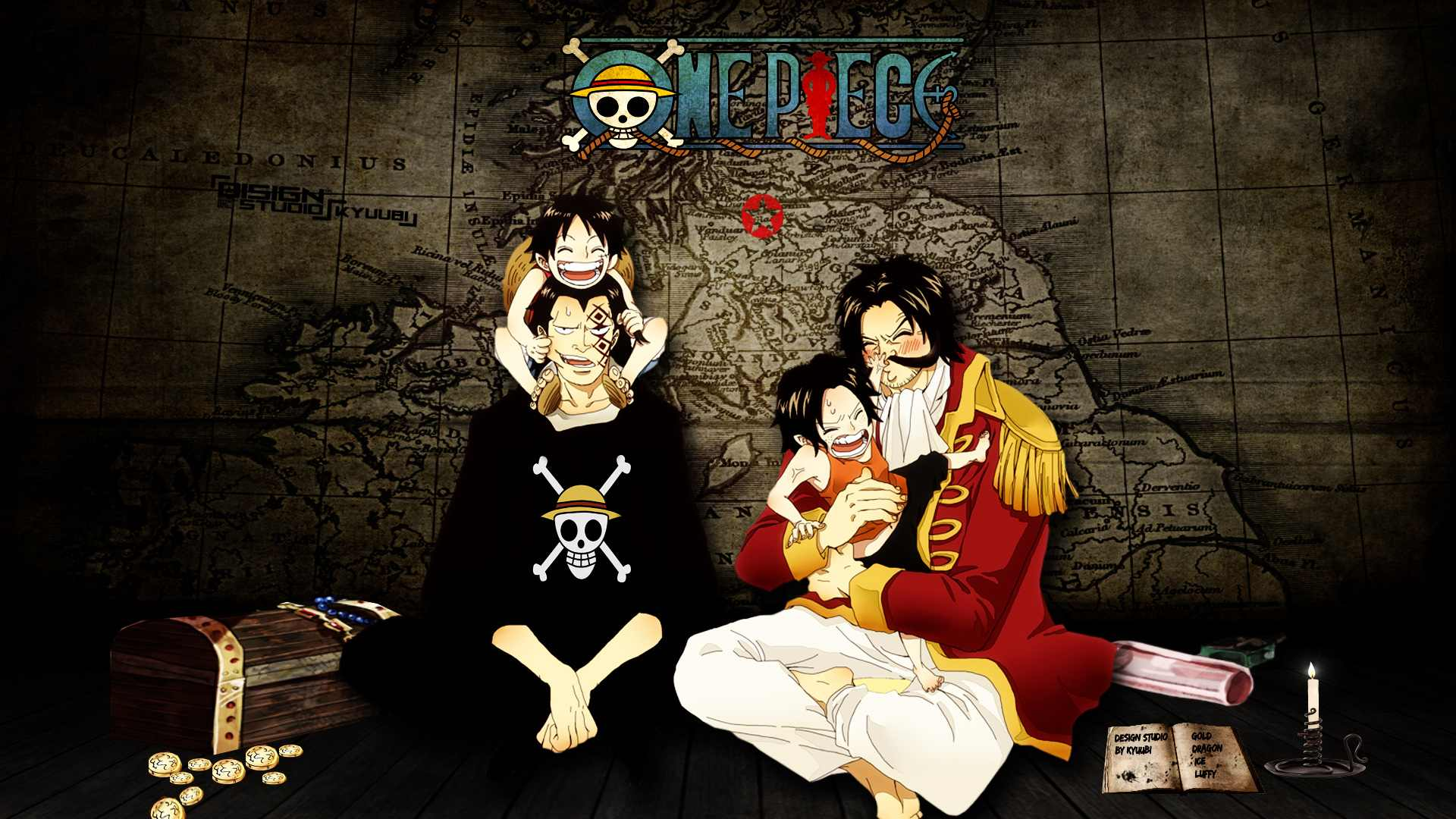 3D One Piece Wallpapers Group 76