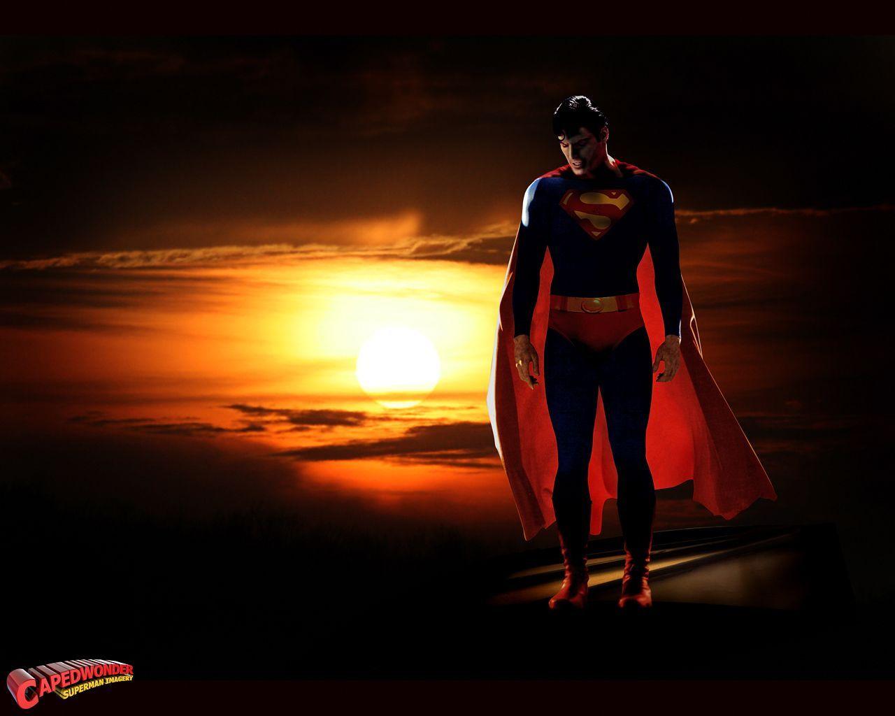 3d Superman Wallpaper