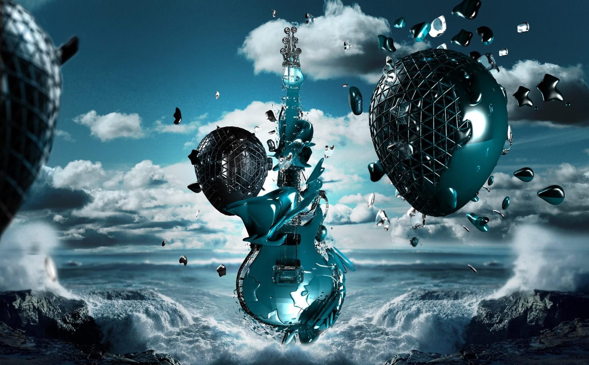 3d Wallpaper Music Sf Wallpaper