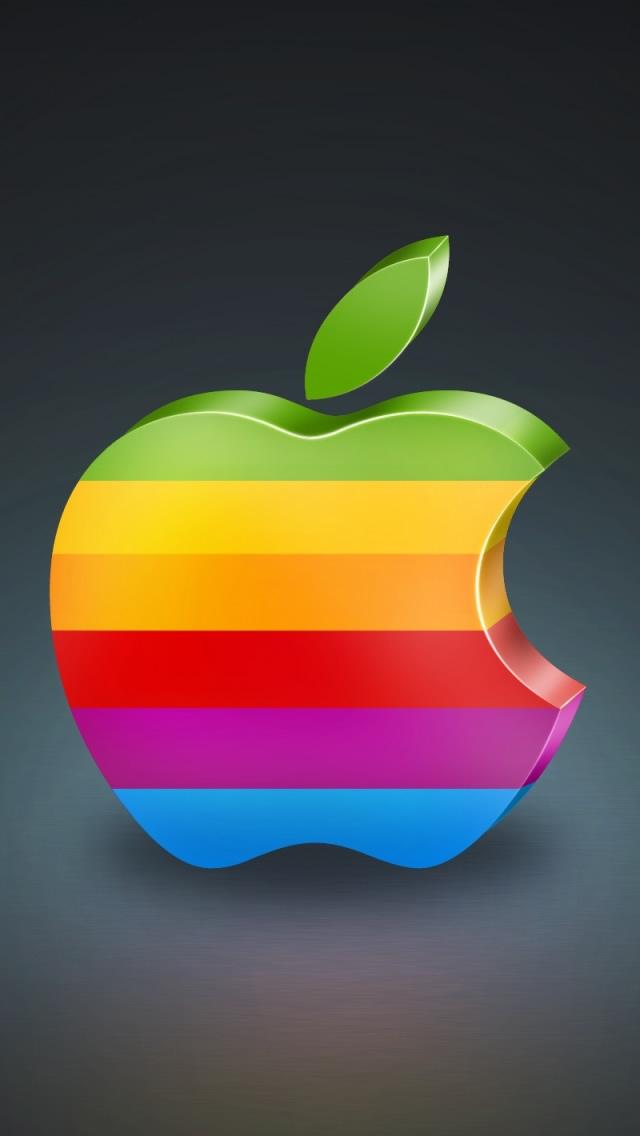 Apple 3D iPhone 5s Wallpaper Download | iPhone Wallpapers, iPad
