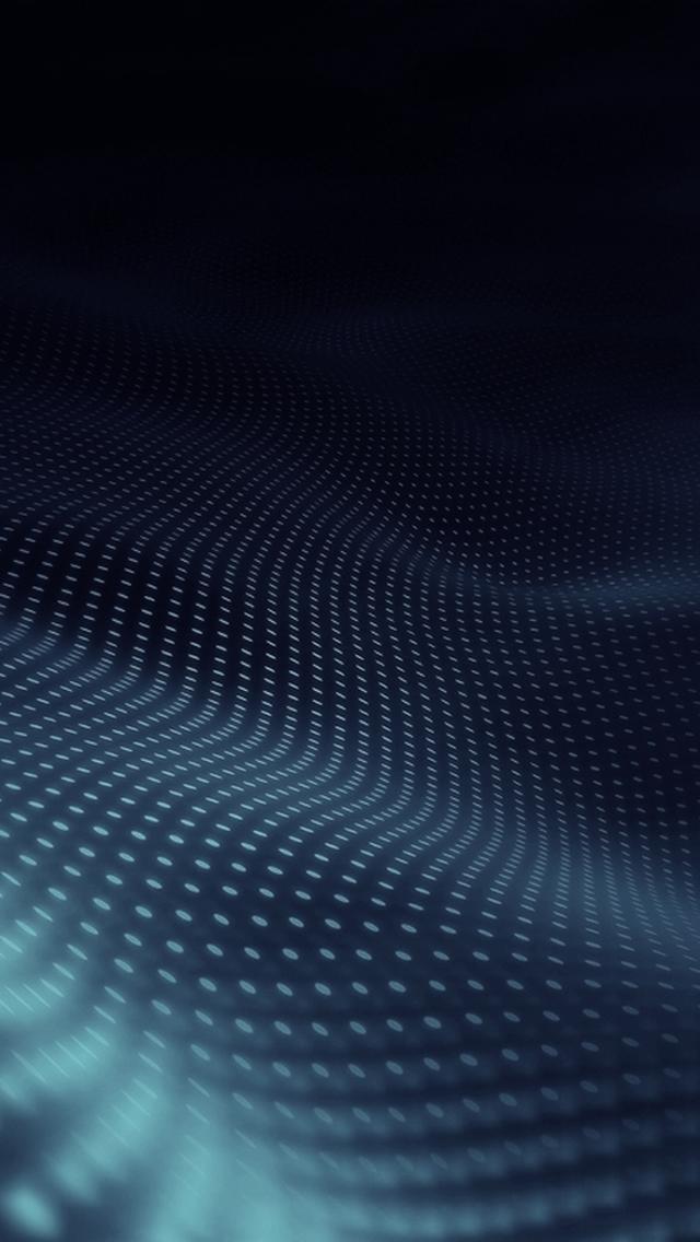 3D Digital Wave iPhone 5s Wallpaper Download | iPhone Wallpapers
