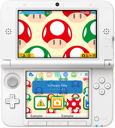 Gorgeous 3DS Background Themes Revealed - Pure Nintendo