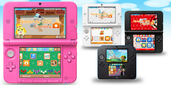 3DS Custom Menu Themes announced - NeoGAF