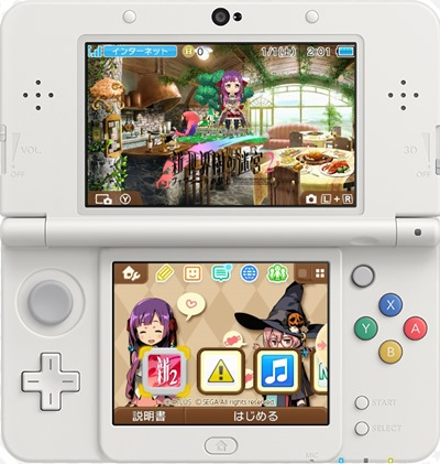 Here's A Look At The Etrian Odyssey Untold II 3DS Custom Themes