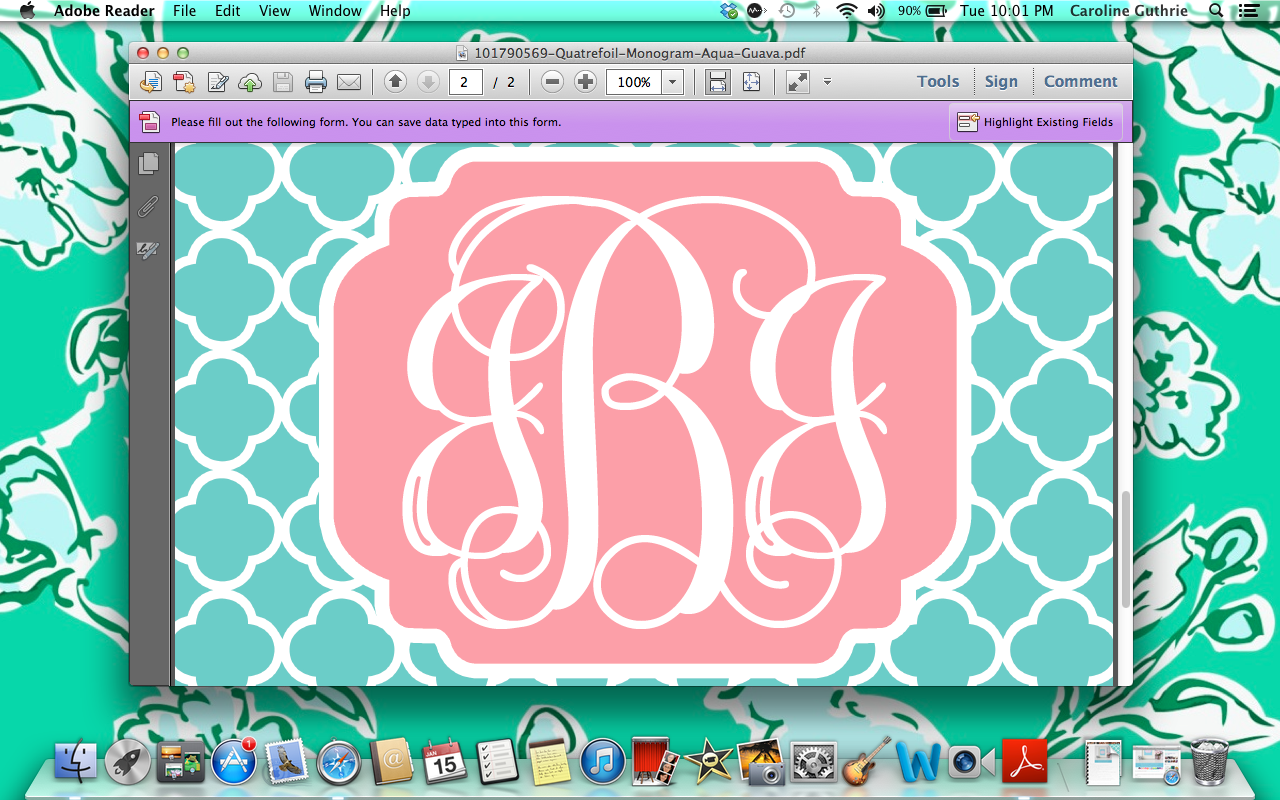 A Monogram Wallpapers Group (46+)