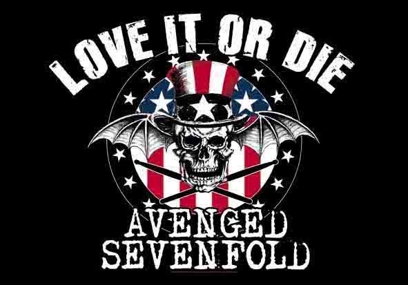 love it or die Avenged Sevenfold wallpaper | A7X (fan)art