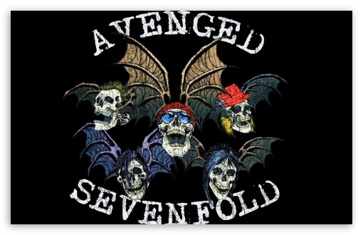 Avenged Sevenfold Logo HD desktop wallpaper : Widescreen : High
