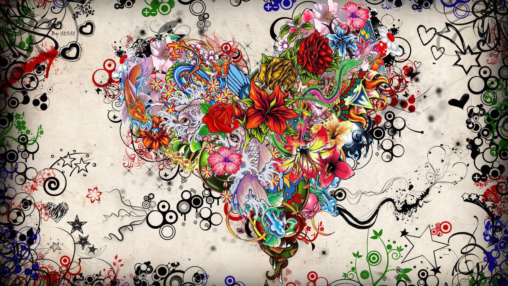 48 abstract art desktop wallpaper Pictures