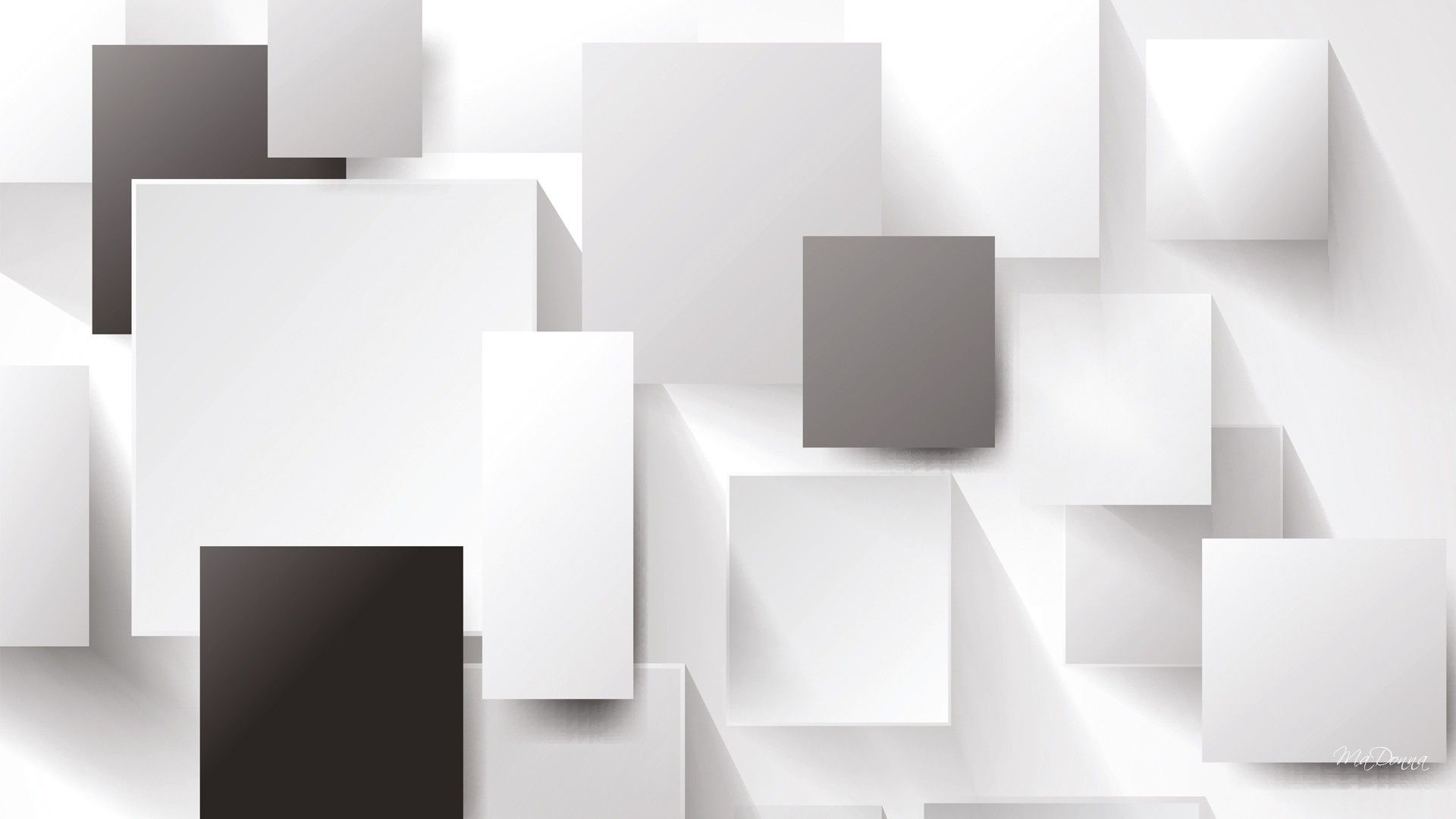 White Abstract Wallpapers Group (89+)