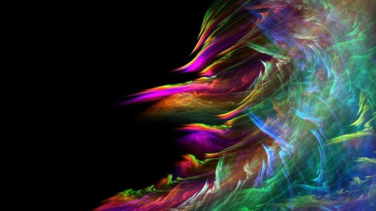 Pretty abstract colors | Android Central