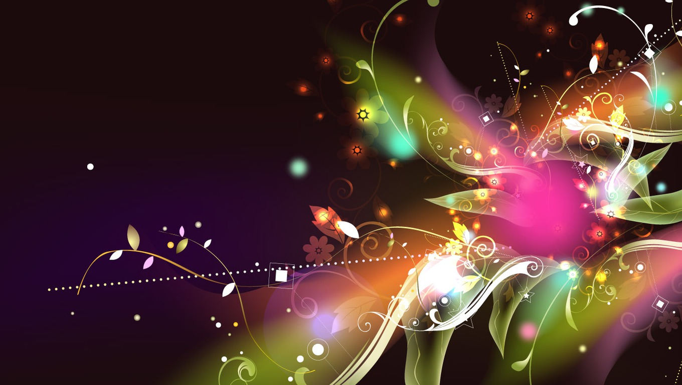Abstract Flower Wallpapers For Desktop Wallpapers Jleb
