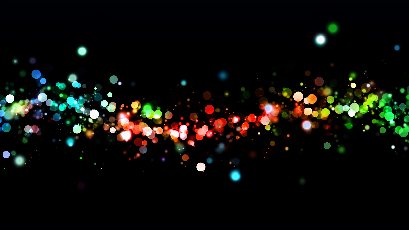 Abstract Lights Wallpaper Page 1