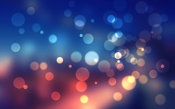 Abstract Lights Wallpaper
