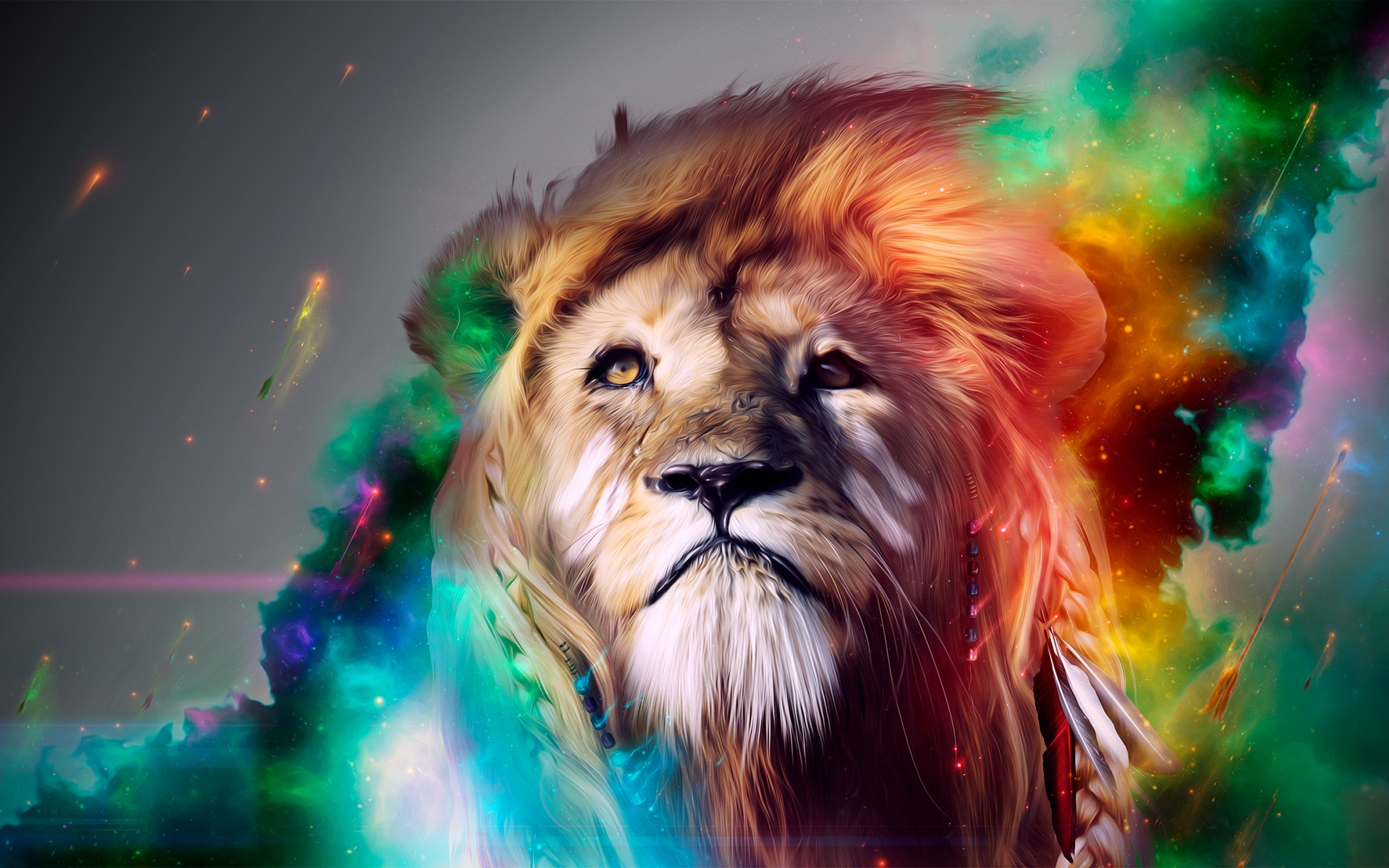 Lion Abstract Wallpapers | HD Wallpapers