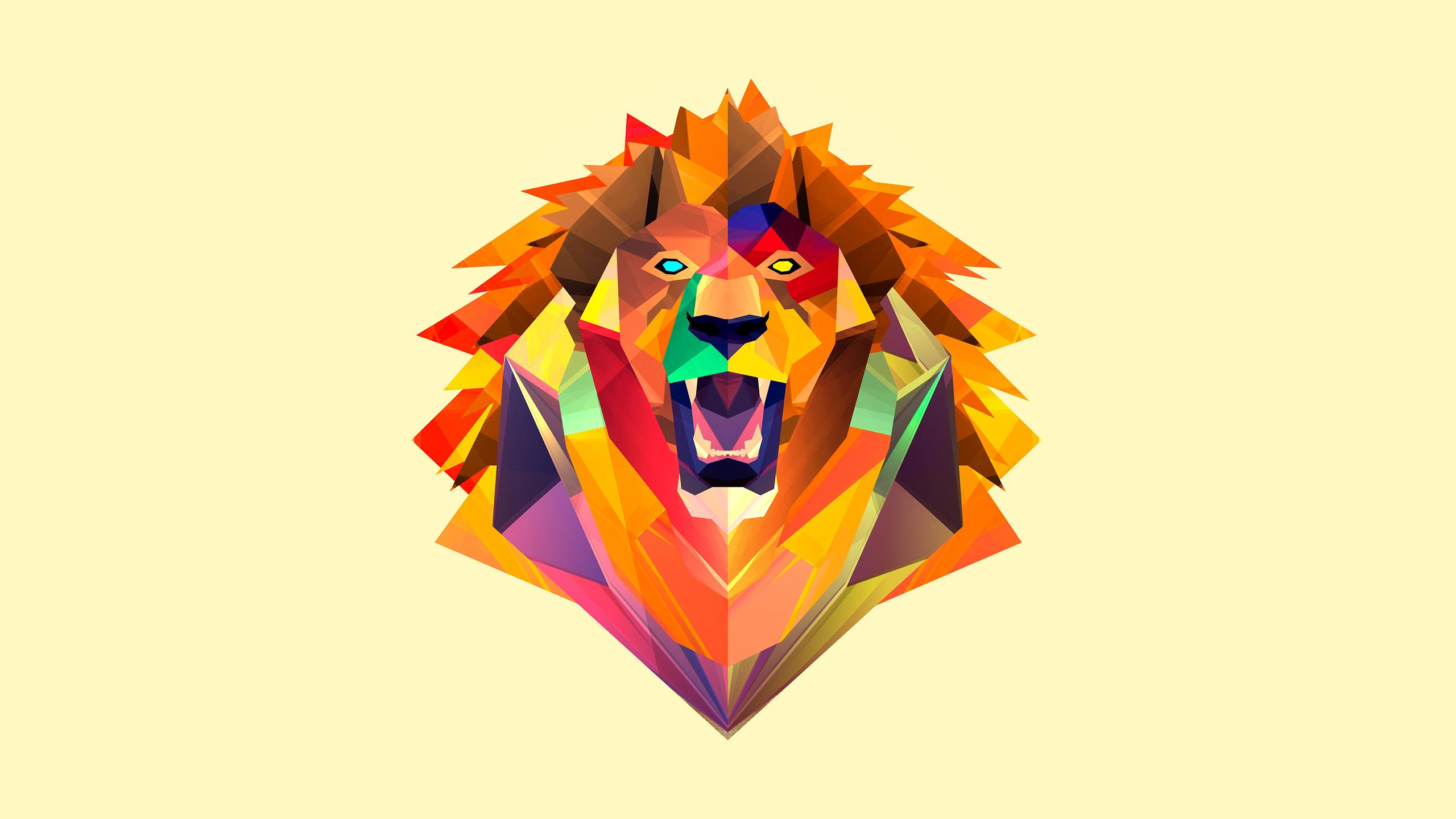 Collection of Abstract Lion Wallpaper on HDWallpapers