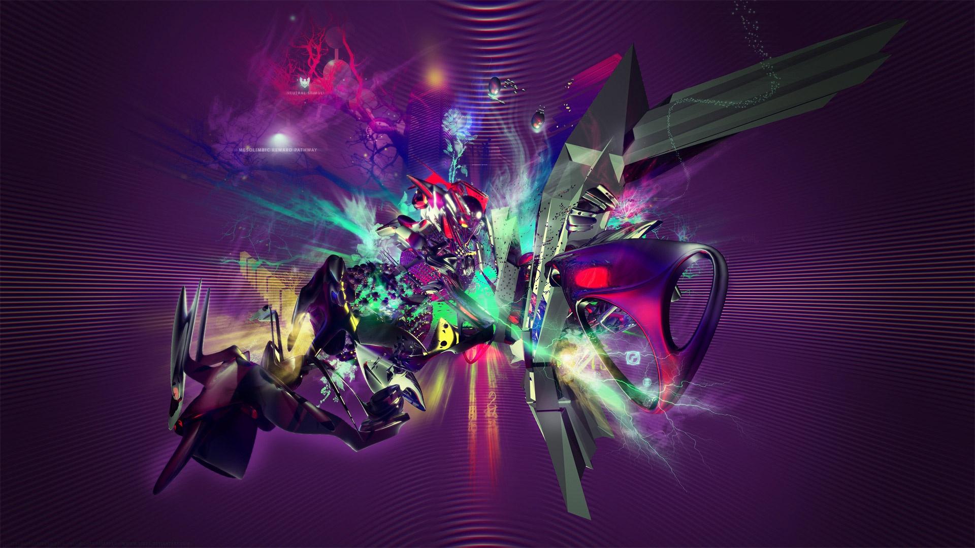 Abstract Music HD Wallpaper | PixelsTalk Net