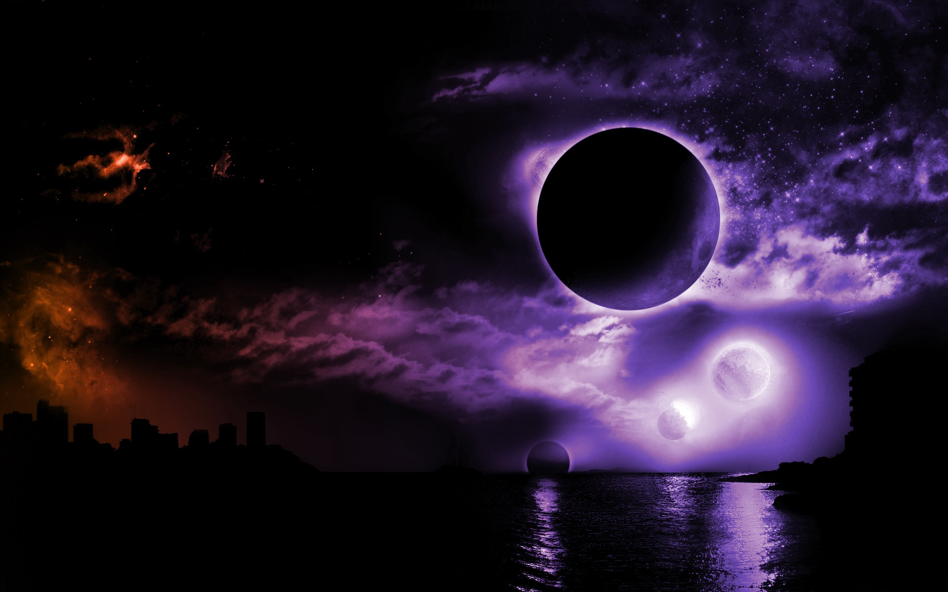 Dark Space Wallpaper Abstract Other Wallpapers in jpg format for